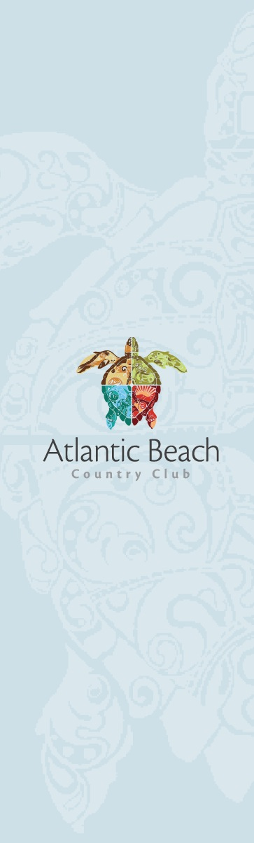 Print Design Portfolio | Atlantic Beach Country Club | David B. Lee