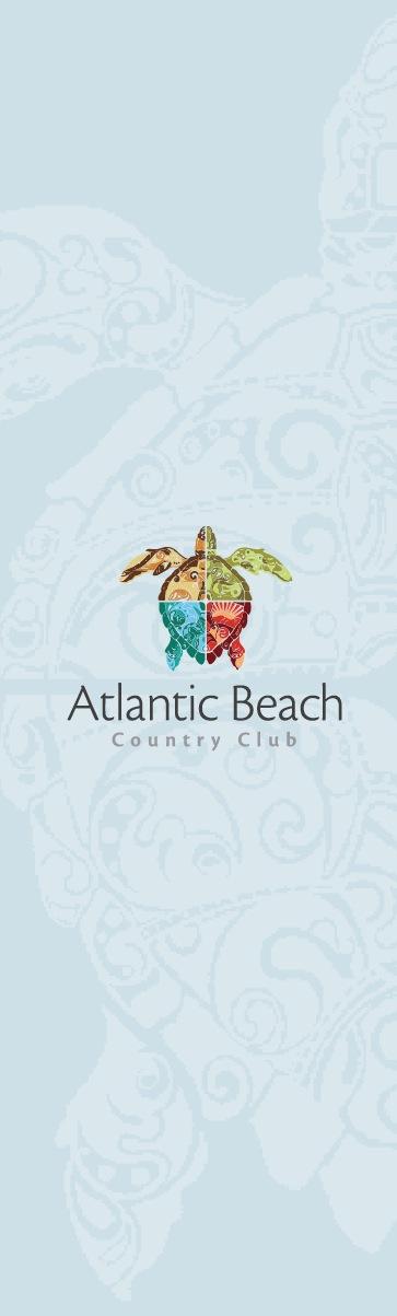 Print Design Portfolio   Atlantic Beach Country Club   David B. Lee