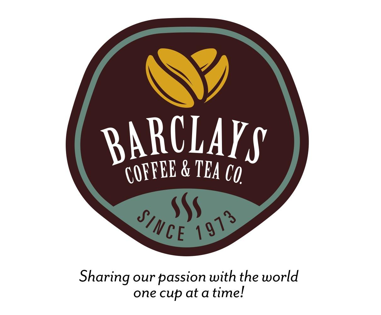 Logo Design Portfolio | Barclays Coffee & Tea Co. | David B. Lee