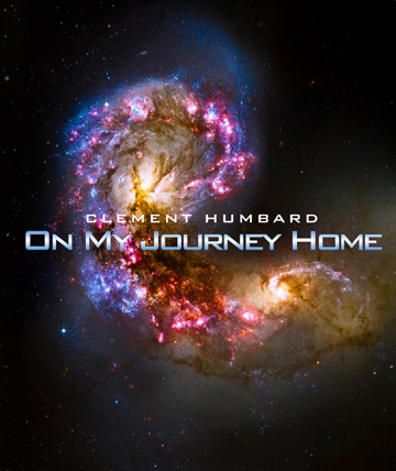 Print Design Portfolio | Clement Humbard On My Journey Home Book Cover | David B. Lee