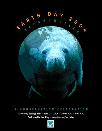 Print Design Portfolio | Earth Day Poster | David B. Lee