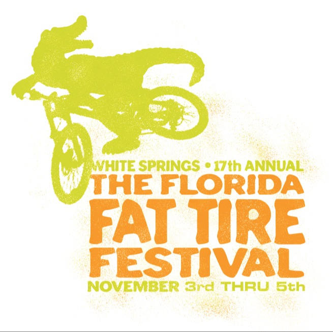 Logo Design Portfolio | The Florida Fat Tire Festival | David B. Lee