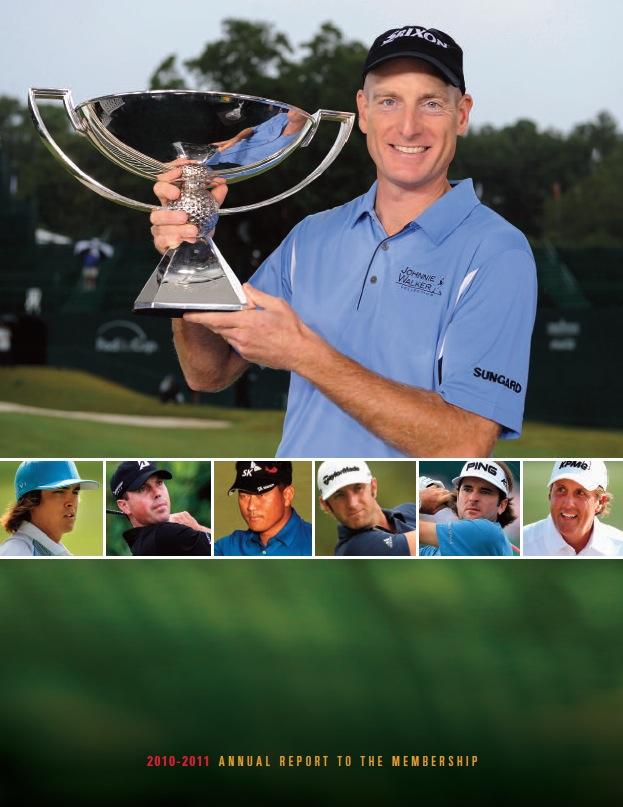 Print Design Portfolio | PGA Annual Report | David B. Lee