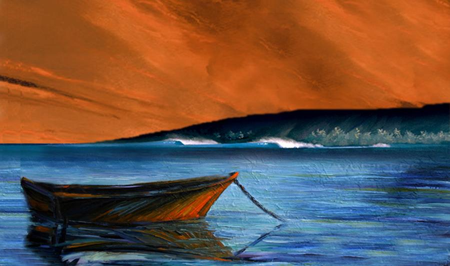 Painting Design Portfolio | Offshore | David B. Lee