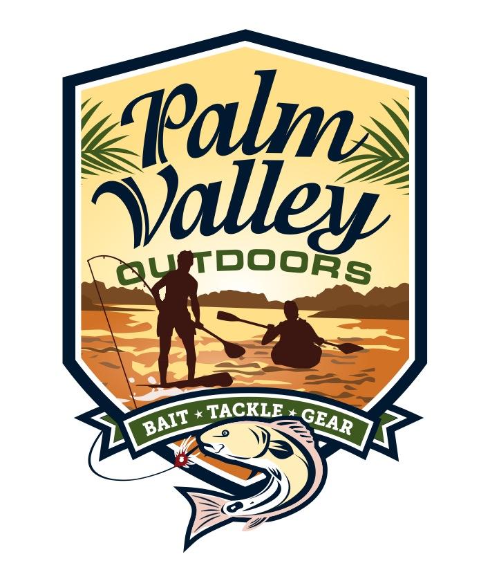 Logo Design Portfolio | Palm Valley Outdoors | David B. Lee