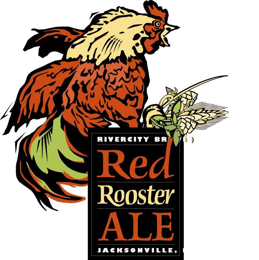 Illustration Portfolio | Rivercity Brewing Company | Red Rooster Ale | David B. Lee
