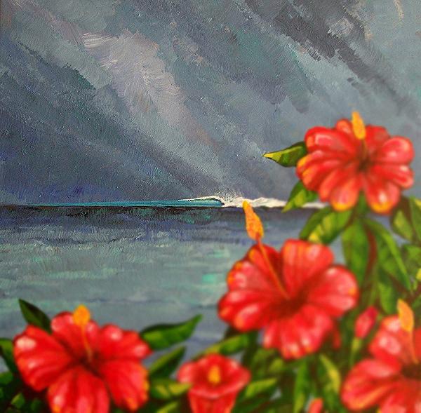 Painting Design Portfolio | Rush Reef Bahamas | David B. Lee
